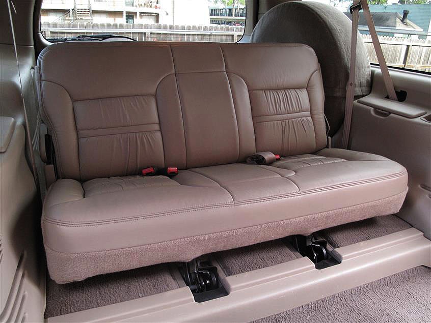 Driver Bottom Leather Seat Cover 2-Tone 2002 Ford Excursion Limited EDDIE BAUER